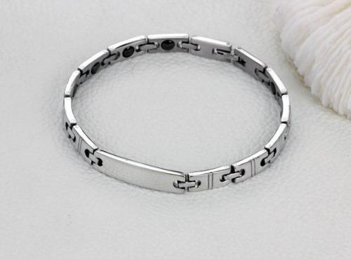 His Set Couple Titanium Bracelet Anti-fatigue Anti-radiation in a