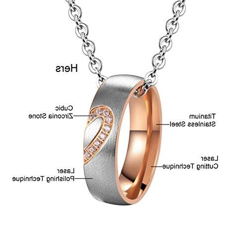 SunnyHouse Hers Stainless Heart Necklace in a Gift