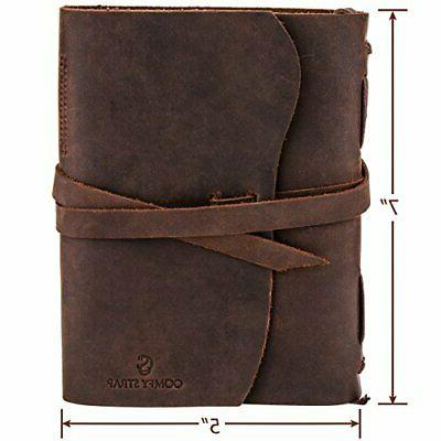 Leather Journal, Bound For Men LUXURY Gift For Anniversary