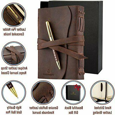 Leather Journal, For Men & LUXURY Set Anniversary