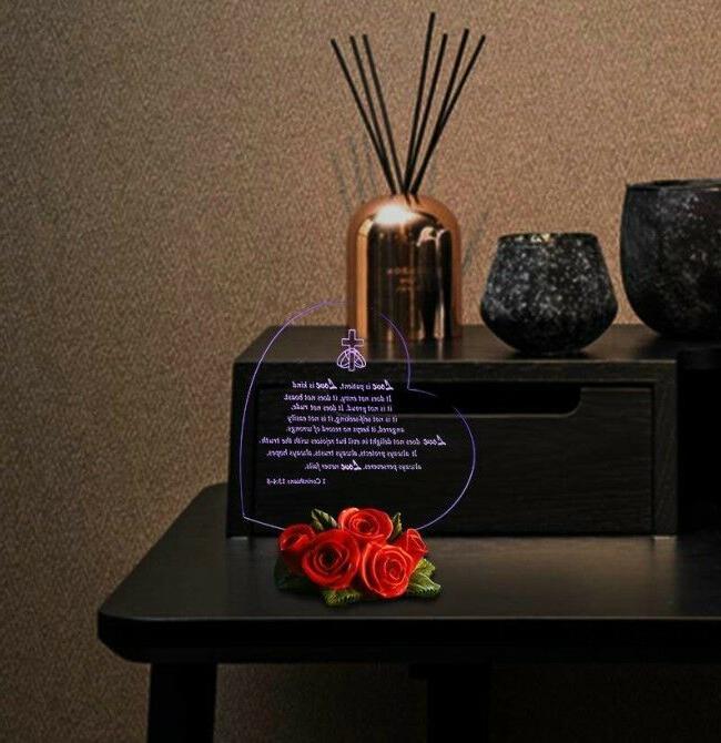 LED Anniversary For Men Love Souvenir Present
