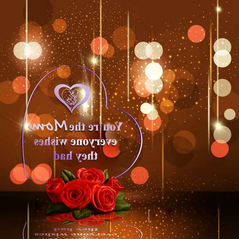 LED Shaped Rose Base Gift Birthday
