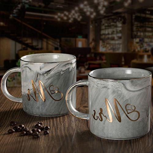 BDQFEI couple mug/ceramic gift box with