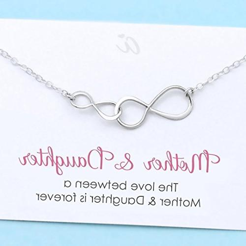 mother daughter necklace personalized gift