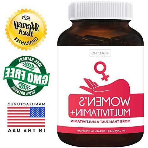 Women's & Minerals Boost, Hair, Eye & Antioxidants: With Zinc, Selenium & - Multivitamin Women -