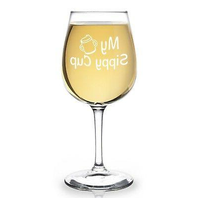 My Sippy Funny Novelty Wine 12.75 oz. - for her - ...