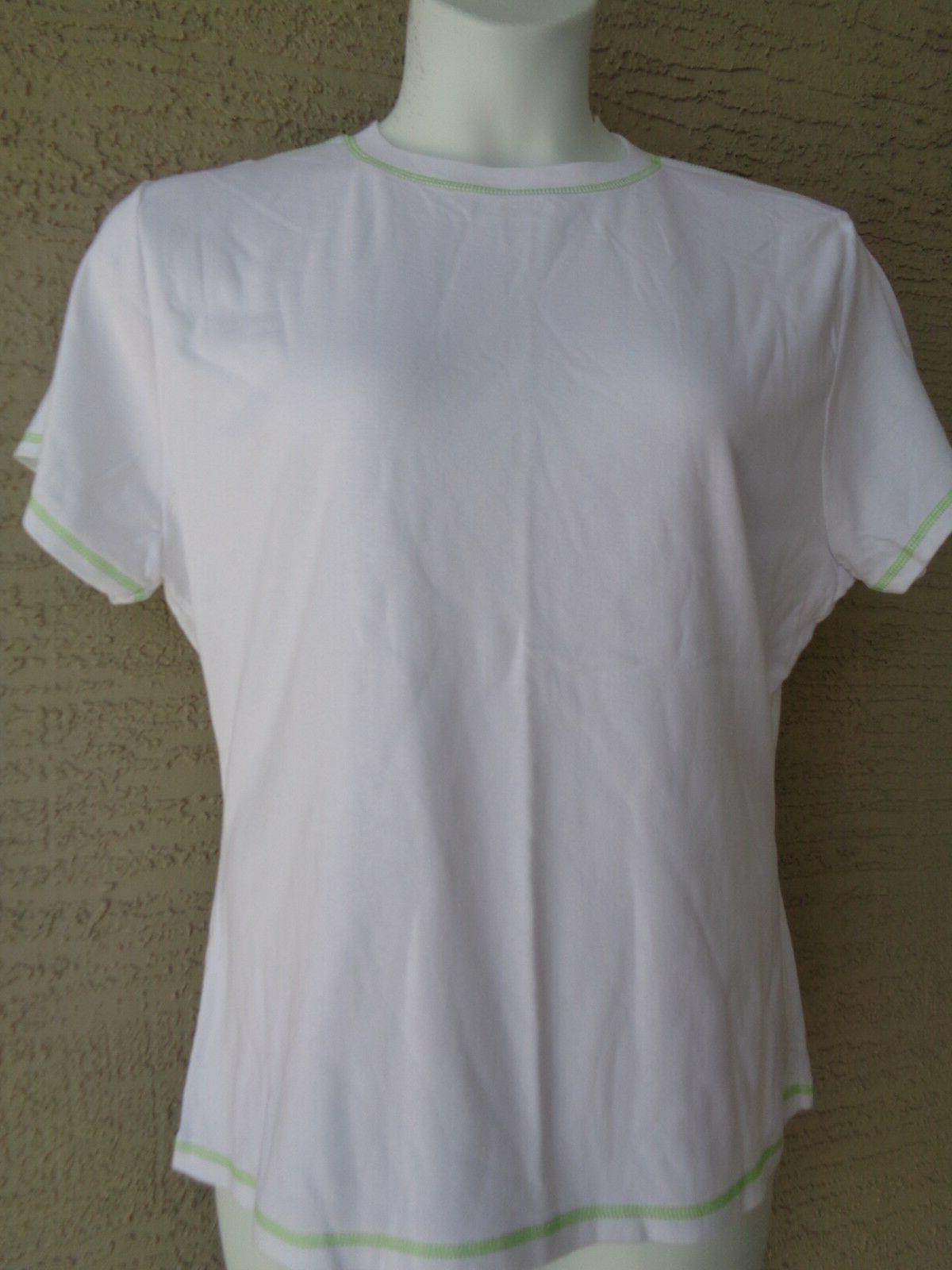 New  Hanes Silver For Her  2X S/S Cotton  Jersey Crew Neck T