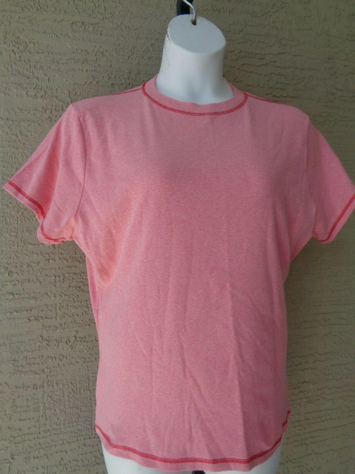 New  Hanes Silver For Her  2X S/S  Jersey Crew Neck Tee Top