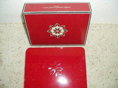 NIB Country Christmas Collection for Her Plastic Box Odyssey 1982