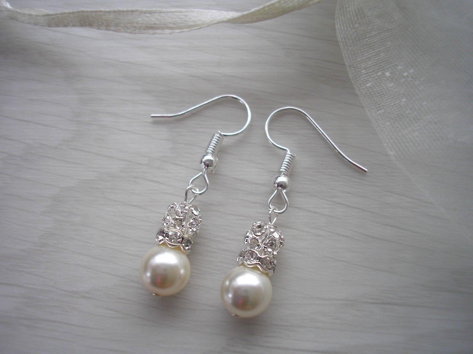 Pearl Bride Bridesmaid for girl 44sw
