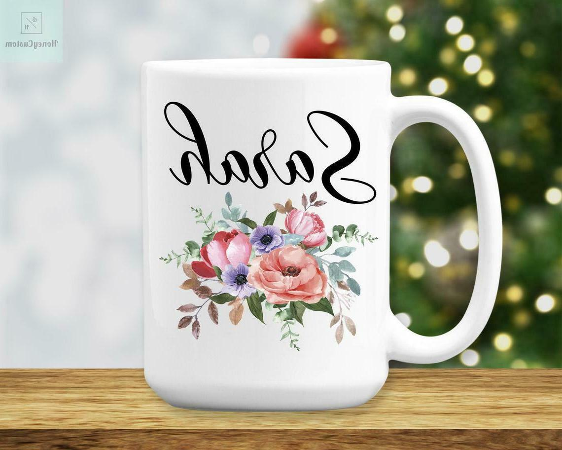 personalized name mug for women and girls