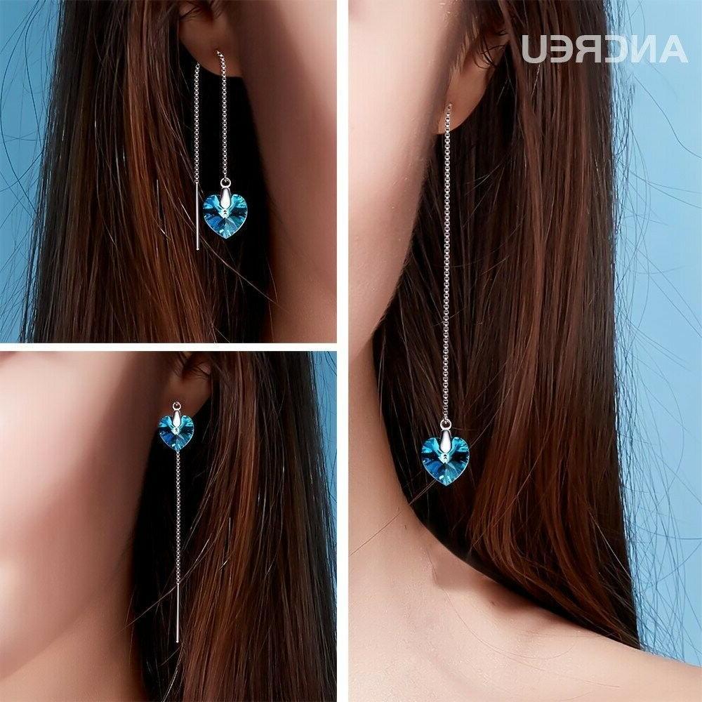 ANCREU Sterling Earrings Drop