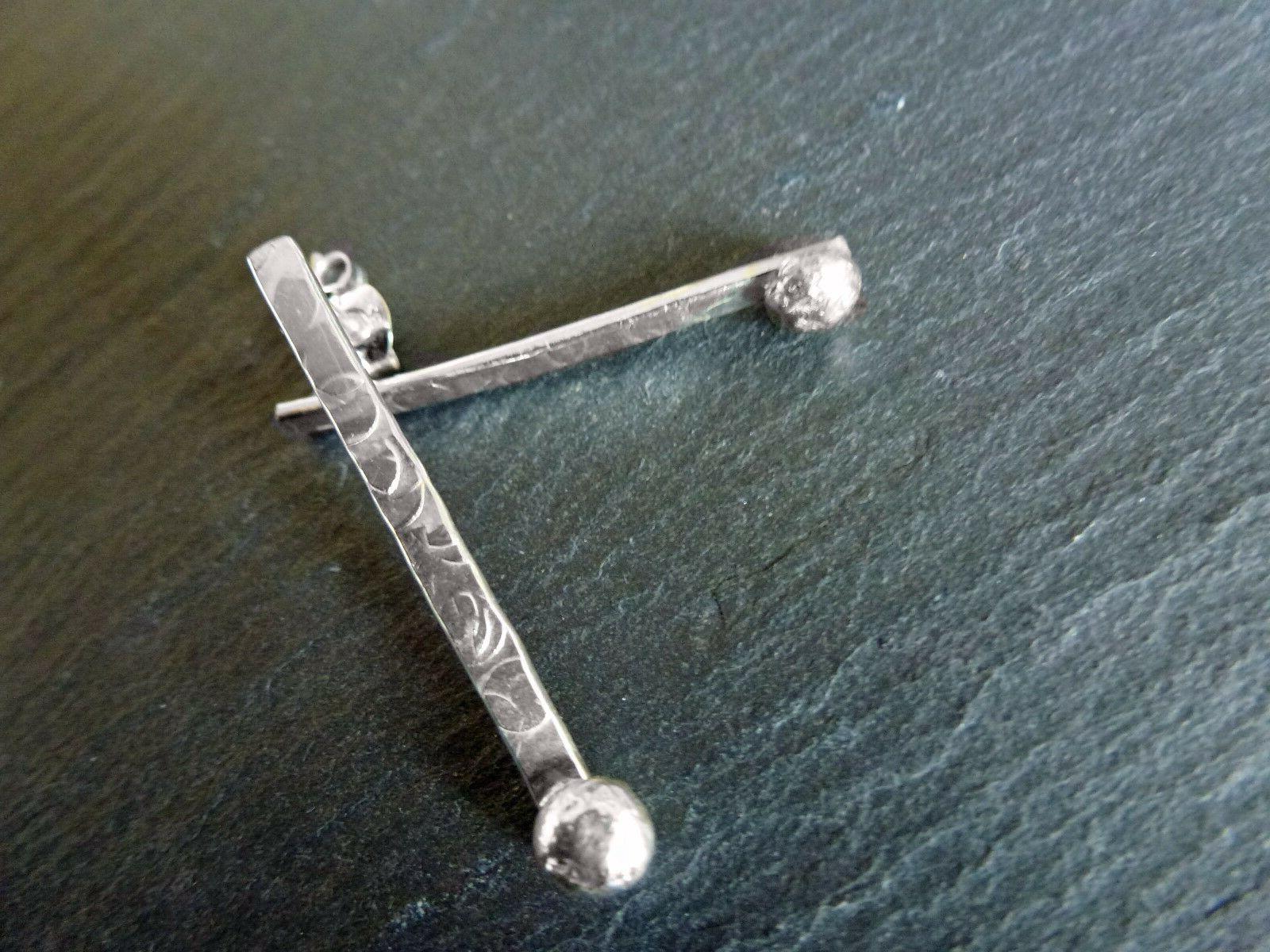 Handmade Sterling Drop Earrings Valentines Gift