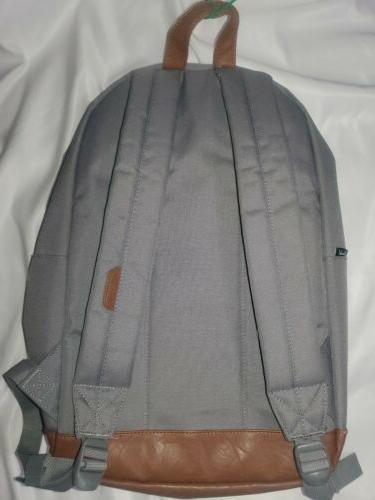 Herschel Quiz Tan Leather