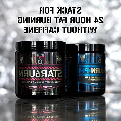 T6 – Fat Burner, Pills for Men and Women Forskolin and 7 Shredding Appetite Suppressant, Supply