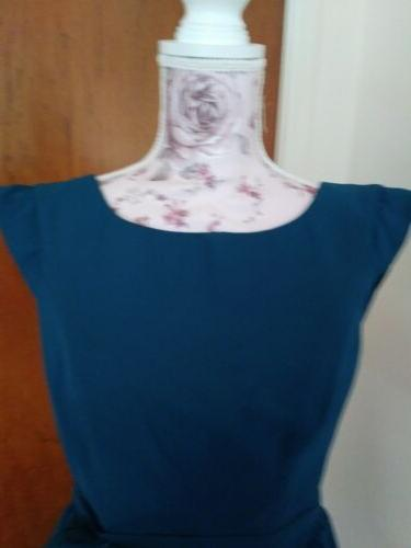 For Her Him Teal Dress Party/ / Nwt