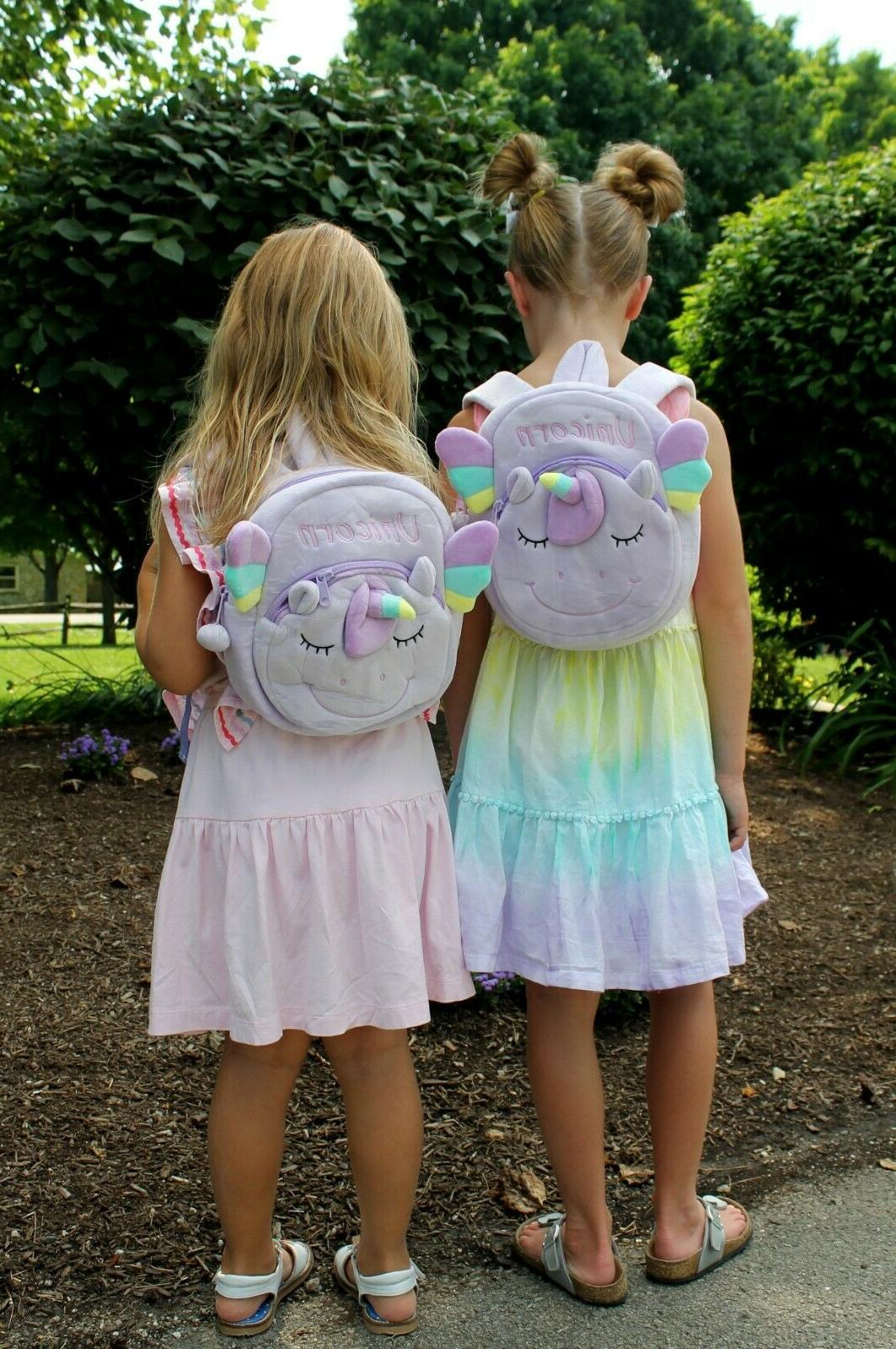 UNICORN BACKPACK Toddlers - plush for all treasures