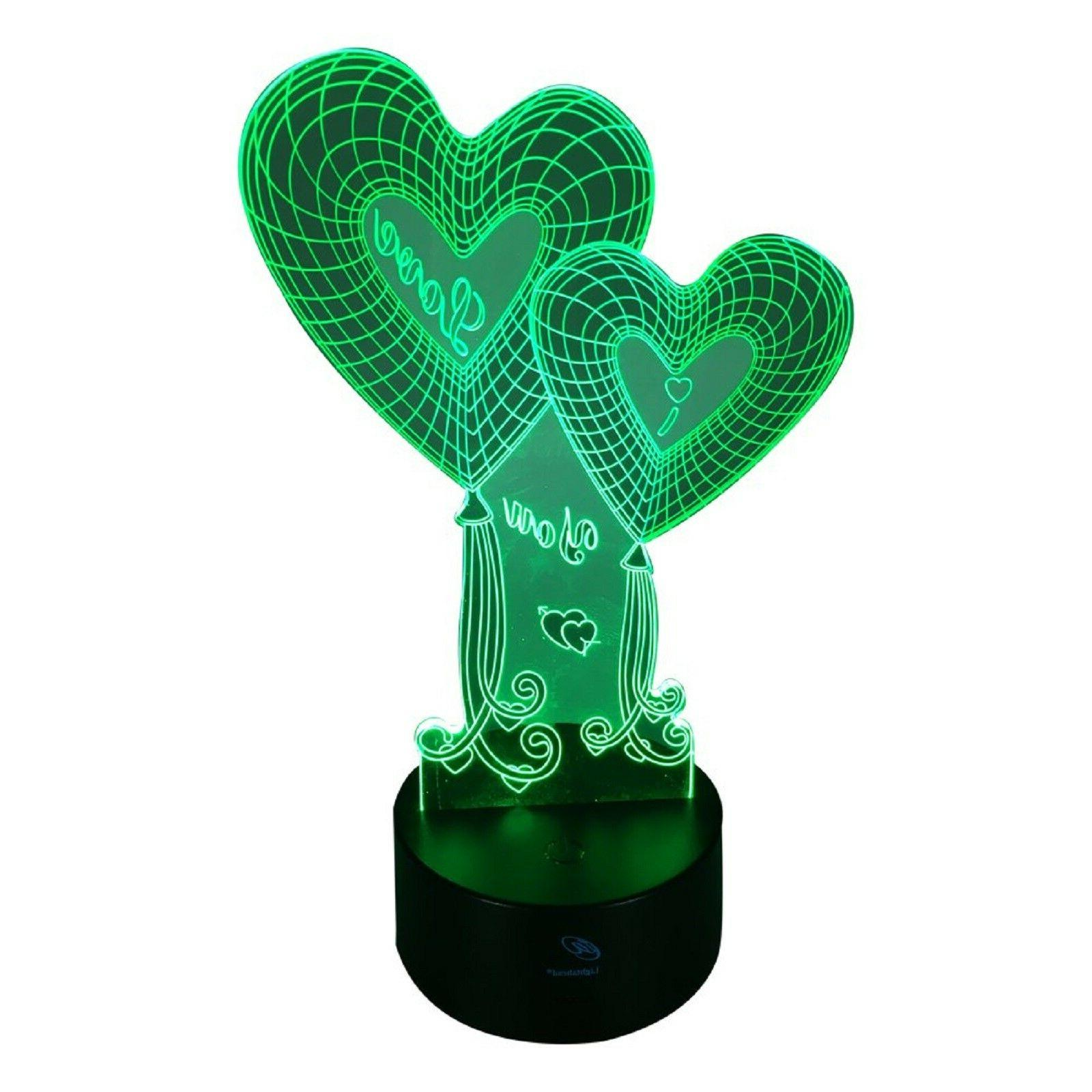 Valentines Day Gift Her 3D Touch LED