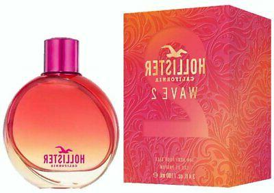 wave 2 by hollister california perfume