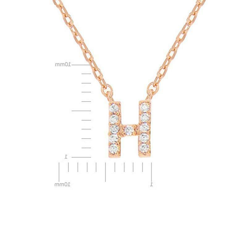 Women's Brass Cubic Zirconia Necklace Gift Her