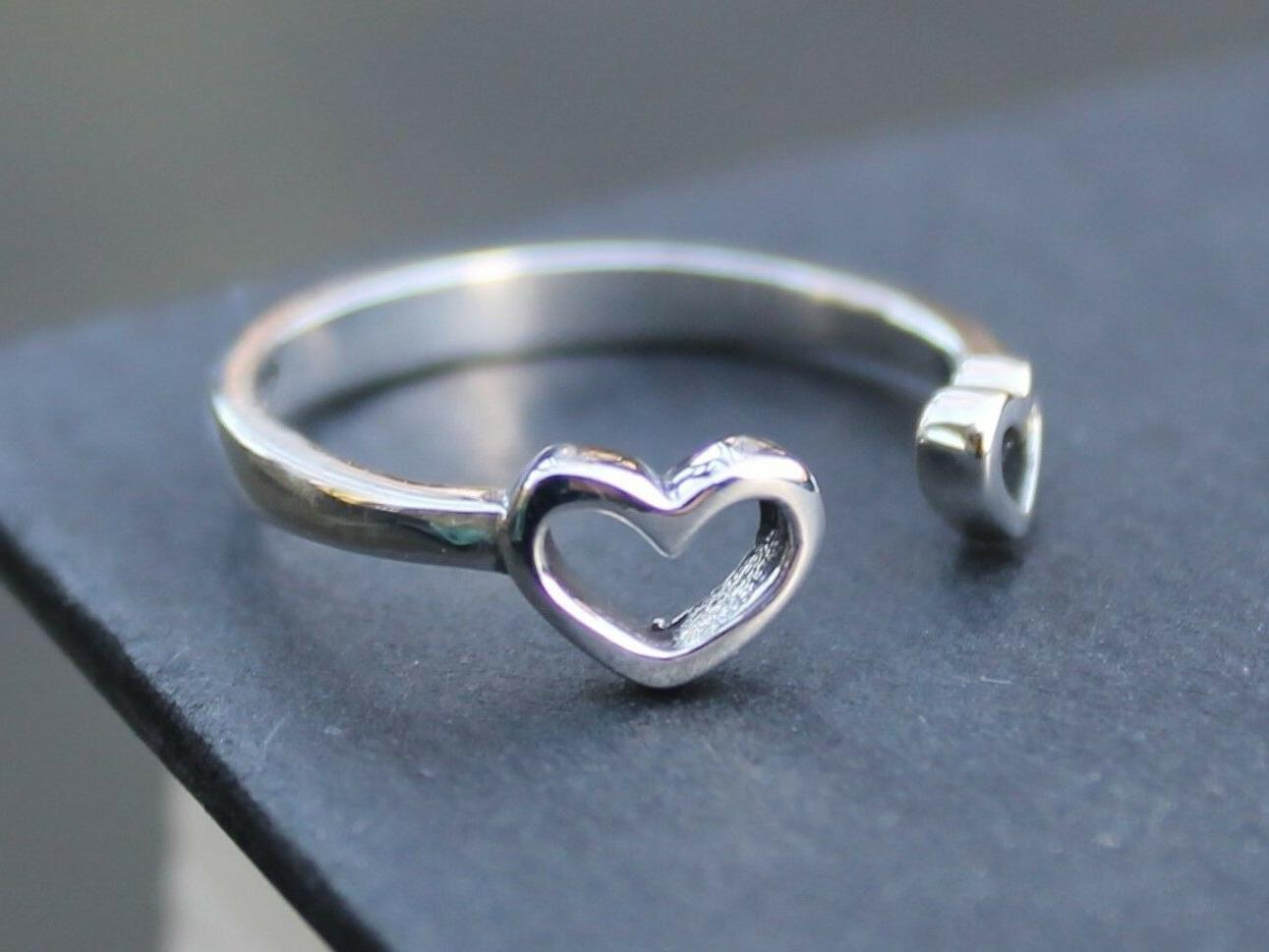 Women's sterling silver ring for her