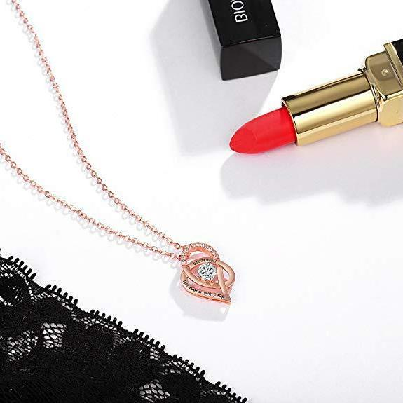 Women's Day Gift Crystal Necklaces, NEW!