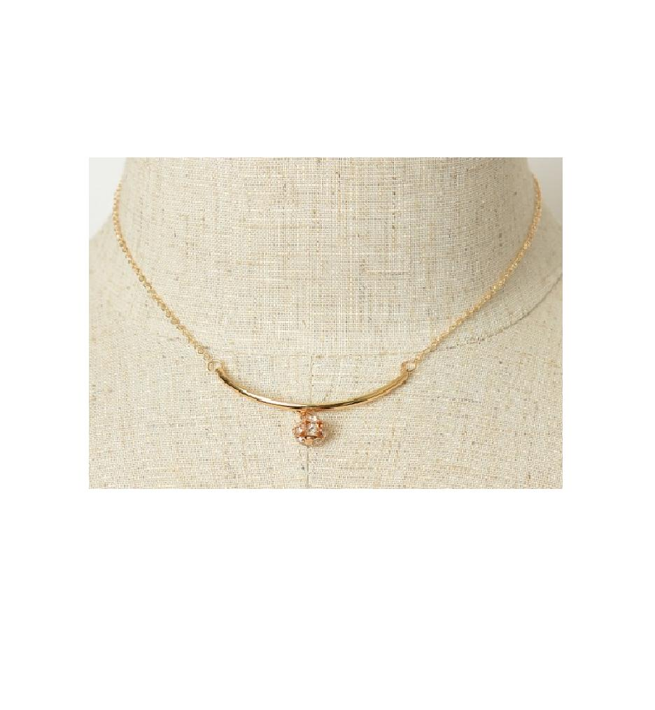 Women's Fashion Jewelry Crystal Round Necklace Her