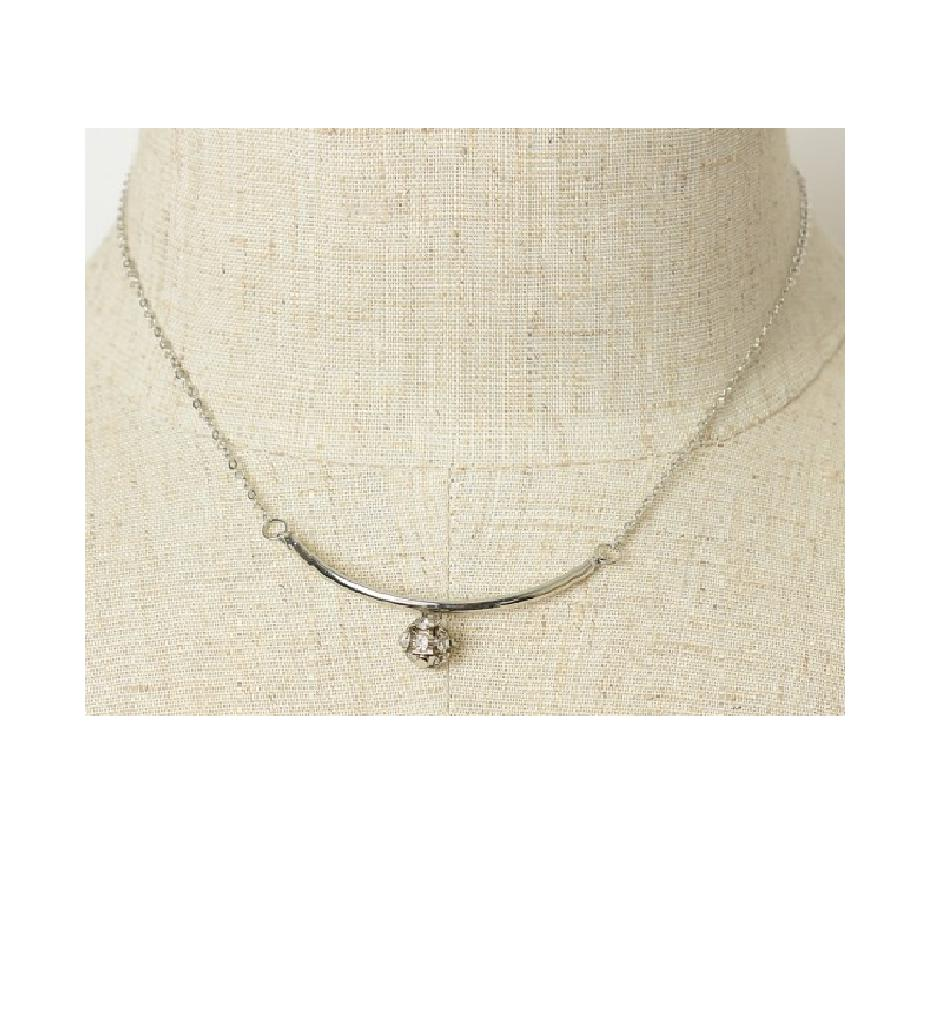 Women's Fashion Round Chain Pendant Necklace Gifts