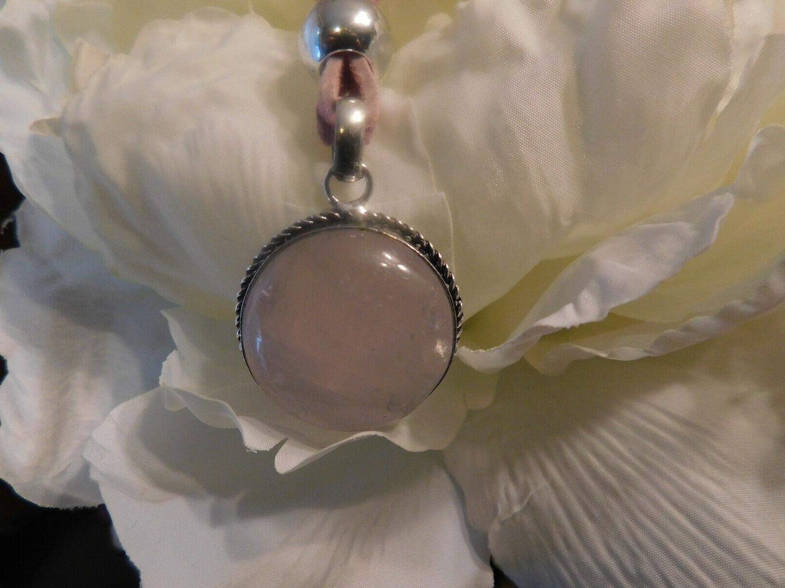 Handmade necklace, gift her, pink,