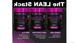 NLA For Her LEAN Stack - Garcinia, CLA, Shred Her - Save $ o