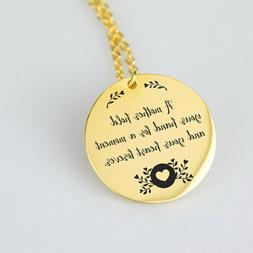 Mommy Necklace Mother's day Quote Jewelry Gifts for her  Gra
