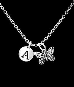 Butterfly Necklace Mother's Day Christmas Gift For Her Natur