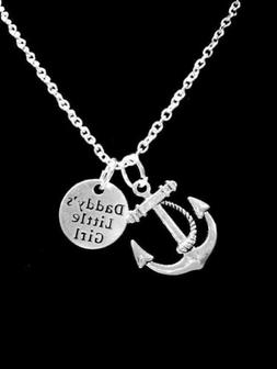 Necklace Anchor Daddy's Little Girl Christmas Gift For Her