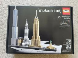 NEW! LEGO Architecture New York City 21028, Skyline Collecti