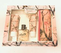 New Camo Hunter Realtree For Her 4 Piece Fragrance Perfume B