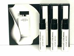 3 x PURE MUSC By Narciso Rodriguez for Her 0.03oz / 1ml ea E