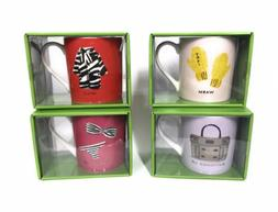 KATE SPADE NEW YORK Things We Love Porcelain COFFEE MUGS Col