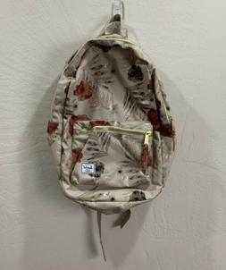 original supply co hoffman red floral backpack