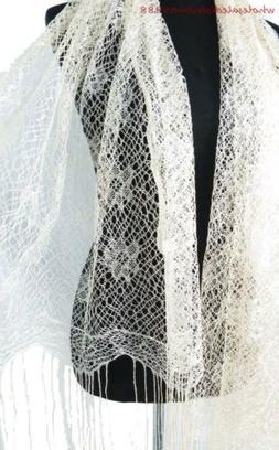 plain color ladies fashion scarves long tassel fashion scarf