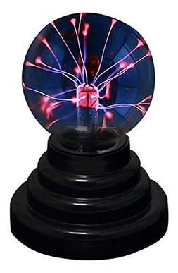 Plasma Ball Nebula Home Light Show Glass Sphere Energy Touch