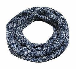 Printed Women's Scarf Blue Neck Wrap New Hijab Fashion Scarf