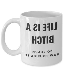 Sarcastic humor coffee mug - funny novelty gift for her him