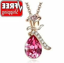 Valentines Day Gift for Her Women Girls Wife Love Pendant Ne