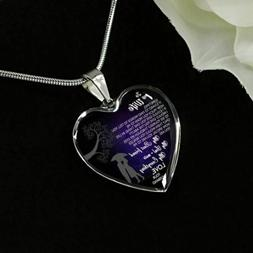 Wife Necklace for Her - Husband and Wife Pendant - Valentine
