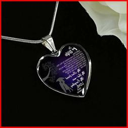 Wife Necklace for Her Husband And Wife Pendant Valentine's A