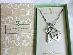 Women's  Necklace   Gift  for Her Sandra Magsamen Lock & Key
