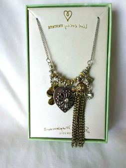 Women's  Necklace  Gift  for Her Sandra Magsamen Heart Chain