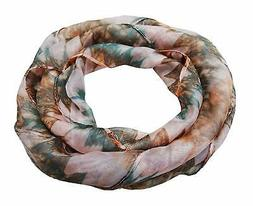 Women's Scarves Printed Stole Poly Silk Summer Fashion Scarf