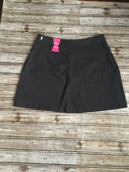 Teez-Her Women's Skort Cotton Built Shorts Size XL Blue Stre