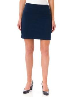Women's Slender Shapes TEEZ-HER SKORT Black SIZE- SMALL. Inv